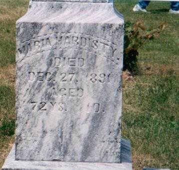 HARDISTY, MARIA (HEADLEY) - Adams County, Iowa | MARIA (HEADLEY) HARDISTY