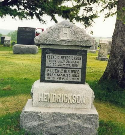 HENDRICKSON, KLENG & ELLEN (TORSON) - Adams County, Iowa | KLENG & ELLEN (TORSON) HENDRICKSON