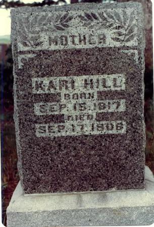 HILL, KARI - Adams County, Iowa | KARI HILL