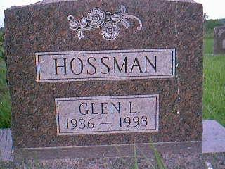 HOSSMAN, GLEN L. - Adams County, Iowa | GLEN L. HOSSMAN