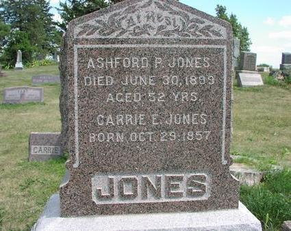 BICKFORD JONES, CARRIE E. - Adams County, Iowa | CARRIE E. BICKFORD JONES