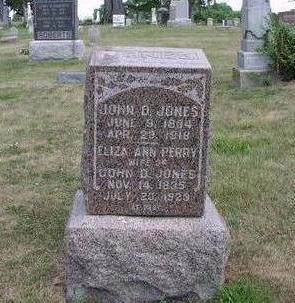 JONES, JOHN D. - Adams County, Iowa | JOHN D. JONES