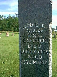 LAFLUER, ADDIE E. - Adams County, Iowa | ADDIE E. LAFLUER
