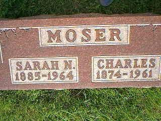 MOSER, CHARLES - Adams County, Iowa | CHARLES MOSER