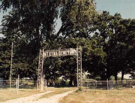 MT. ETNA A.K.A. BRETHERN, CEMETERY - Adams County, Iowa | CEMETERY MT. ETNA A.K.A. BRETHERN