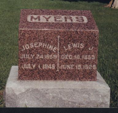 MYERS, JOSEPHINE - Adams County, Iowa | JOSEPHINE MYERS