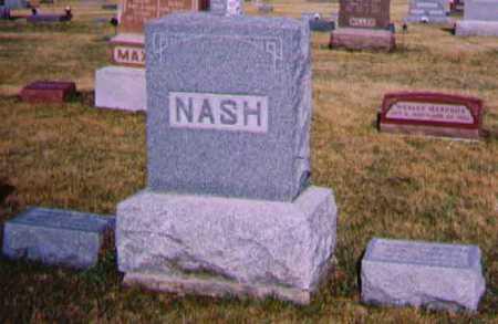 NASH, FAMILY - Adams County, Iowa   FAMILY NASH