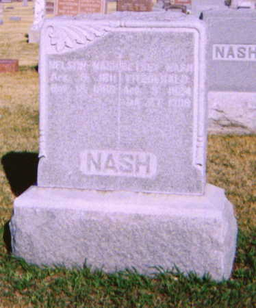 NASH, NELSON - Adams County, Iowa | NELSON NASH