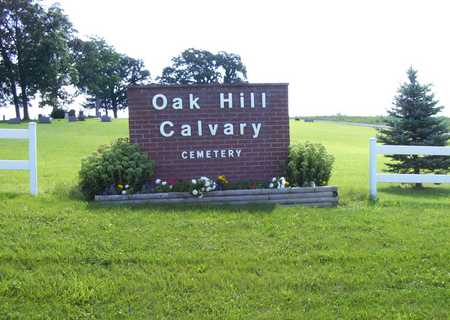OAK HILL, CEMETERY - Adams County, Iowa | CEMETERY OAK HILL