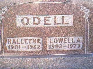 ODELL, LOWELL A. - Adams County, Iowa | LOWELL A. ODELL