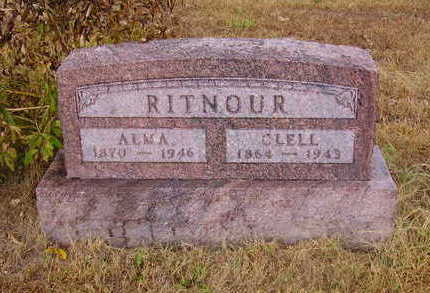 RITNOUR, CLELL (JAMES MCCLELLAND) - Adams County, Iowa | CLELL (JAMES MCCLELLAND) RITNOUR