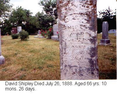 SHIPLEY, DAVID - Adams County, Iowa | DAVID SHIPLEY