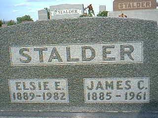 STALDER, JAMES C. - Adams County, Iowa | JAMES C. STALDER