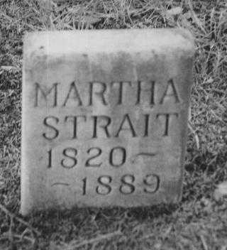 STRAIT, MARTHA - Adams County, Iowa | MARTHA STRAIT