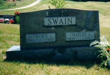 SWAIN, CHARLES S. AND FLORENCE L. - Adams County, Iowa | CHARLES S. AND FLORENCE L. SWAIN