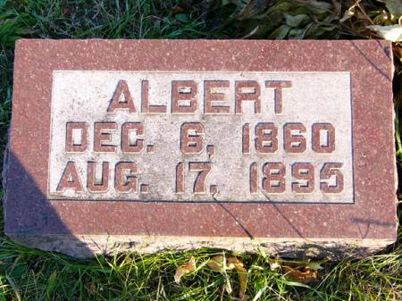 TAYLOR, ALBERT - Adams County, Iowa   ALBERT TAYLOR