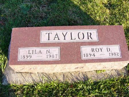 TAYLOR, ROY DAVID - Adams County, Iowa   ROY DAVID TAYLOR