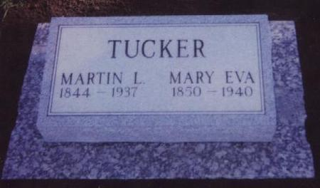 TUCKER, MARY EVA - Adams County, Iowa | MARY EVA TUCKER