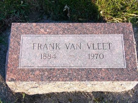 VAN VLEET, FRANK - Adams County, Iowa | FRANK VAN VLEET