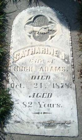 ADAMS, CATHARINE J. - Allamakee County, Iowa | CATHARINE J. ADAMS