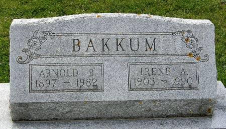 BAKKUM, IRENE A. - Allamakee County, Iowa | IRENE A. BAKKUM