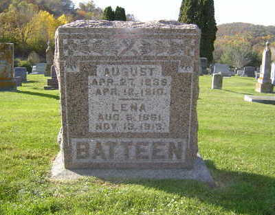 BATTEEN, LENA - Allamakee County, Iowa | LENA BATTEEN