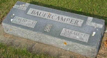 BAUERCAMPER, DAVID GOTTLIEB - Allamakee County, Iowa | DAVID GOTTLIEB BAUERCAMPER