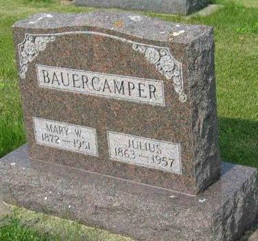 BAUERCAMPER, JULIUS - Allamakee County, Iowa | JULIUS BAUERCAMPER