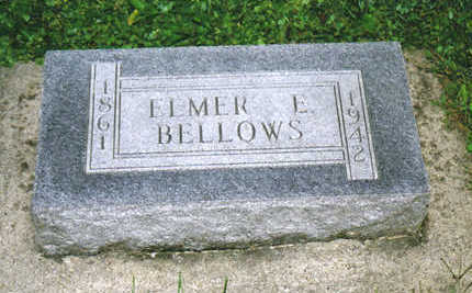 BELLOWS, ELMER E. - Allamakee County, Iowa | ELMER E. BELLOWS