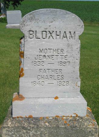 BLOXHAM, CHARLES - Allamakee County, Iowa | CHARLES BLOXHAM