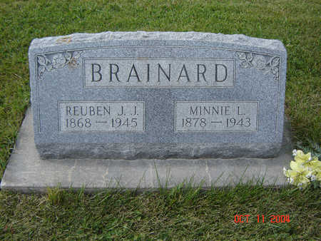 SCHROEDER BRAINARD, MINNIE L. - Allamakee County, Iowa | MINNIE L. SCHROEDER BRAINARD