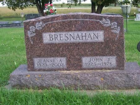 BRESNAHAN, JEANNE A. - Allamakee County, Iowa | JEANNE A. BRESNAHAN