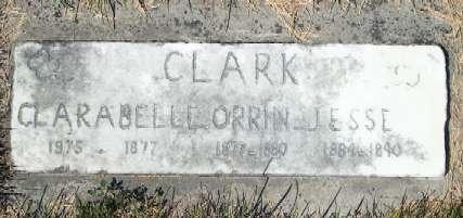 CLARK, CLARA BELLE - Allamakee County, Iowa | CLARA BELLE CLARK
