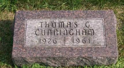 CUNNINGHAM, THOMAS - Allamakee County, Iowa | THOMAS CUNNINGHAM
