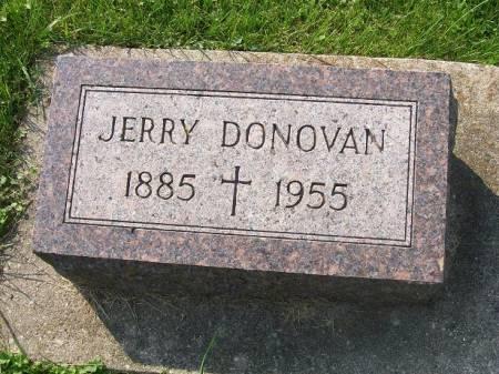 DONOVAN, JERRY - Allamakee County, Iowa   JERRY DONOVAN