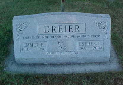 DREIER, ESTHER  L. - Allamakee County, Iowa | ESTHER  L. DREIER