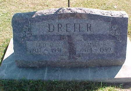 DREIER, LEO - Allamakee County, Iowa | LEO DREIER