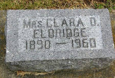 ELDRIDGE, CLARA O. - Allamakee County, Iowa | CLARA O. ELDRIDGE