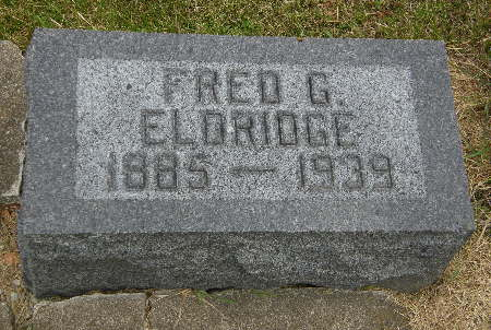 ELDRIDGE, FRED G. - Allamakee County, Iowa | FRED G. ELDRIDGE