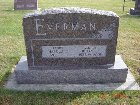 EVERMAN, HAROLD C. - Allamakee County, Iowa | HAROLD C. EVERMAN