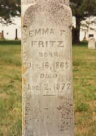 FRITZ, EMMA F. - Allamakee County, Iowa | EMMA F. FRITZ