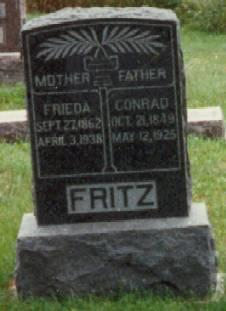 NEES FRITZ, FRIEDA - Allamakee County, Iowa | FRIEDA NEES FRITZ