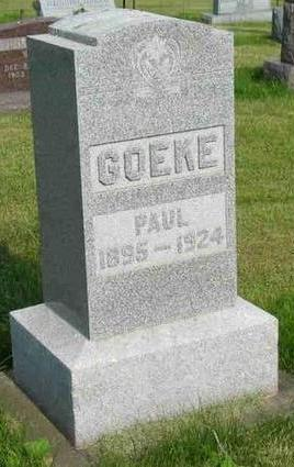 GOEKE, PAUL - Allamakee County, Iowa | PAUL GOEKE