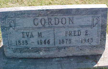 GORDON, EVA  M. - Allamakee County, Iowa | EVA  M. GORDON