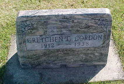 GORDON, GRETCHEN - Allamakee County, Iowa | GRETCHEN GORDON
