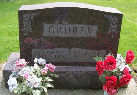 GRUBER, ESTHER RUTH - Allamakee County, Iowa | ESTHER RUTH GRUBER