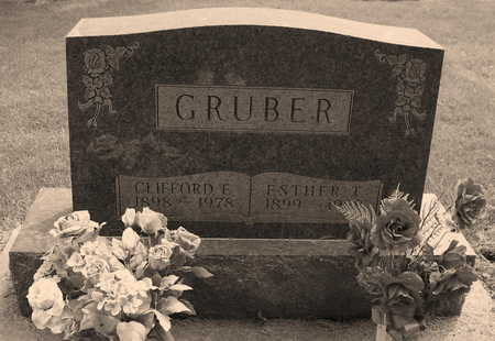 THOMPSON GRUBER, ESTHER RUTH - Allamakee County, Iowa | ESTHER RUTH THOMPSON GRUBER