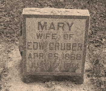 HENRY GRUBER, MARY FRANCES - Allamakee County, Iowa | MARY FRANCES HENRY GRUBER