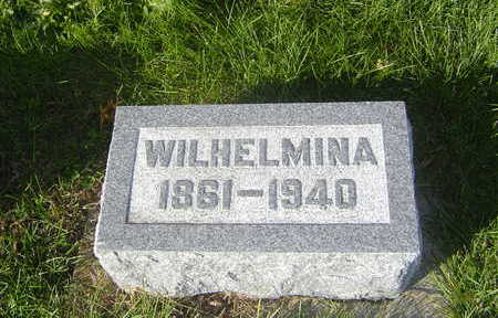 GRUBER, WILHELMINA - Allamakee County, Iowa | WILHELMINA GRUBER