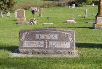 HAAS, EDWARD B. - Allamakee County, Iowa | EDWARD B. HAAS